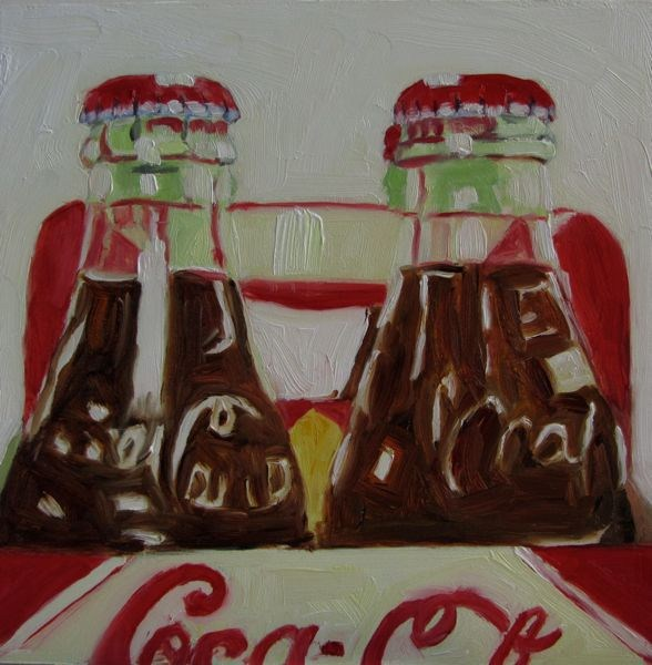 """Coke Addict"" original fine art by Mb Warner"