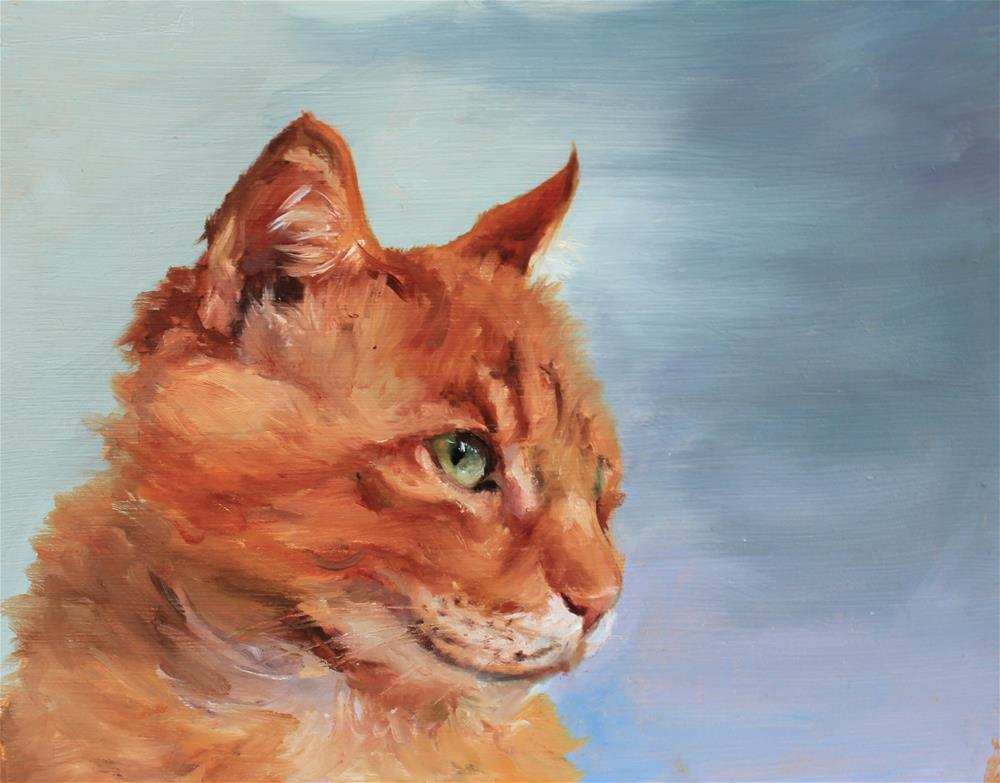 """ginger"" original fine art by Marco Vazquez"