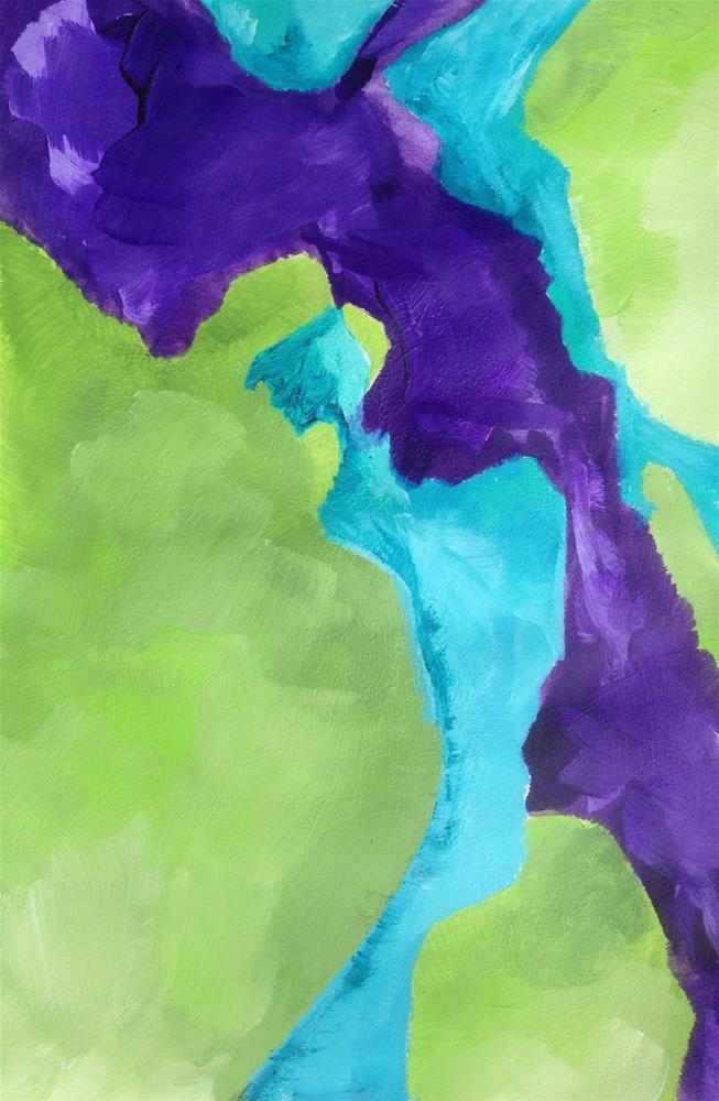 """COLOR, Day 6"" original fine art by Dotty  Seiter"
