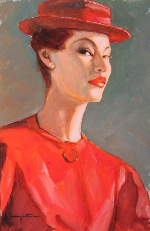 """""""Outmoded?"""" original fine art by Eduardo Carpintero"""