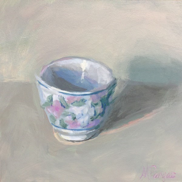 """Quiet"" original fine art by Mary Pargas"