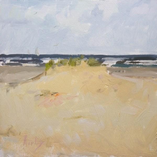 """Beach Front"" original fine art by Randall Cogburn"