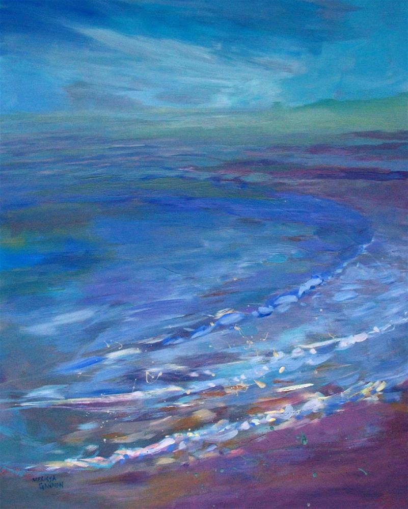"""Sea Mist"" original fine art by Melissa Gannon"