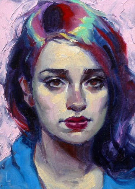 """Polychrome"" original fine art by John Larriva"