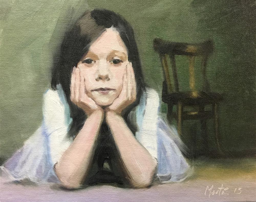 """Dreaming of the Dance"" original fine art by Chris Martin"