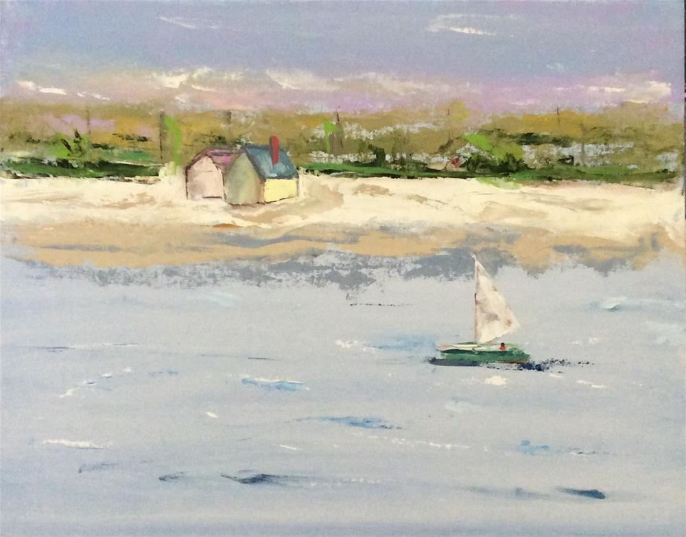 """Sunday Noon"" original fine art by Patty Barnes"