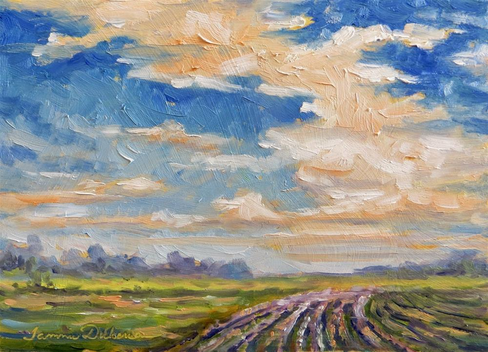 """Beyond the Clouds"" original fine art by Tammie Dickerson"