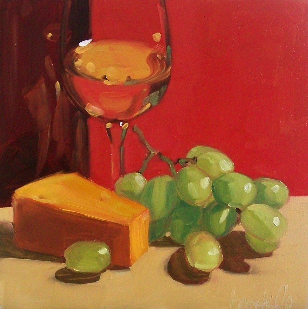 """Leftovers"" original fine art by Brandi Bowman"