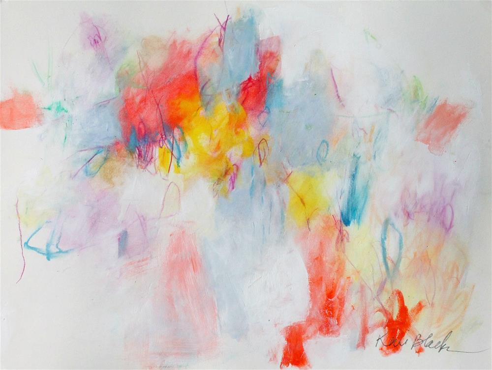 """Blazing On"" original fine art by Kerri Blackman"