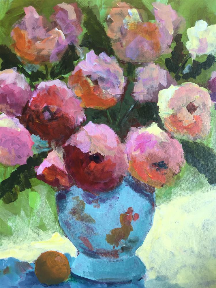 """Charisma Class Demo IV"" original fine art by Susan Elizabeth Jones"