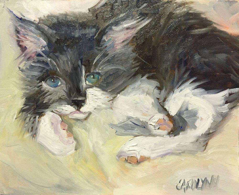 """""""In Honour Of Baby"""" original fine art by Carolynn Doan"""