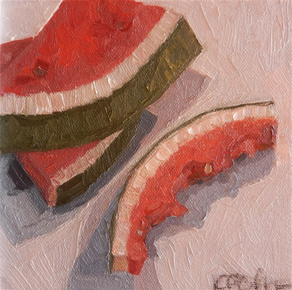 """Slices"" original fine art by Kathy Broyles"