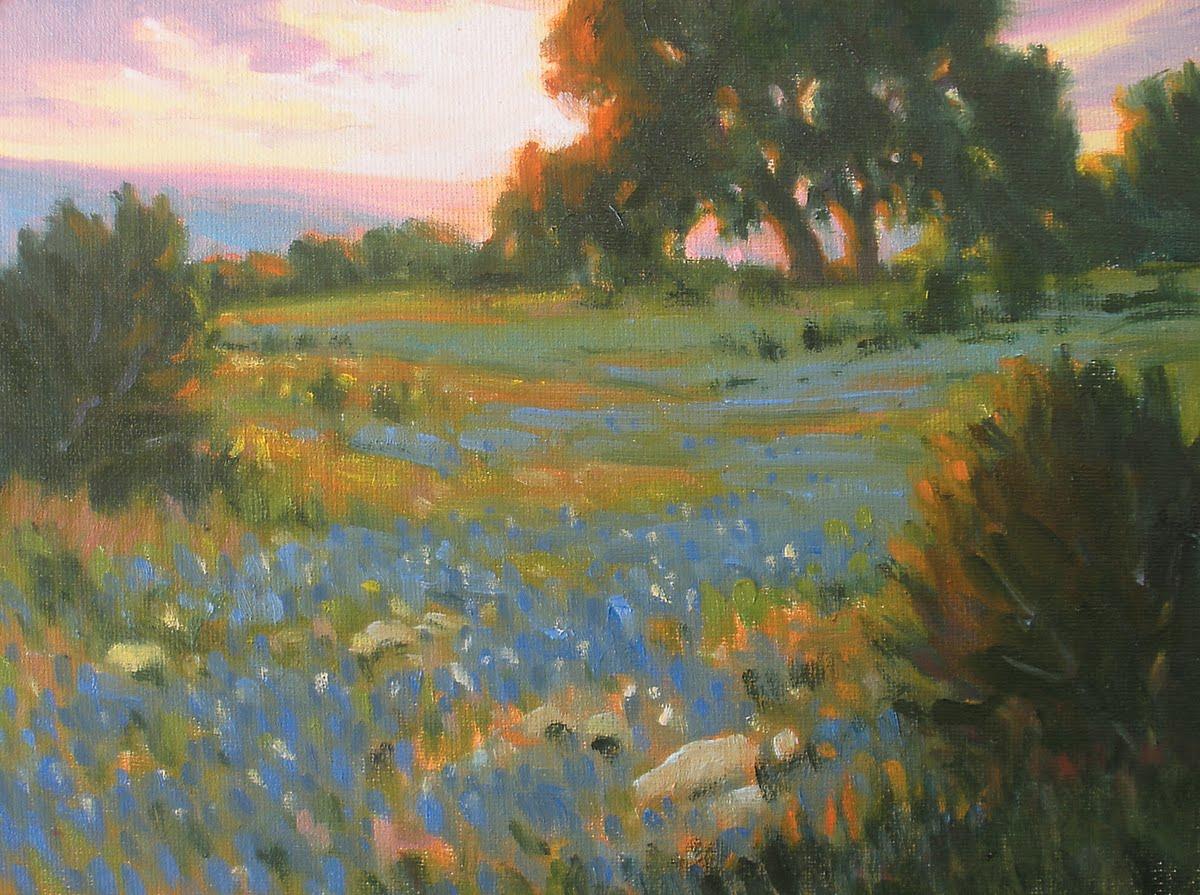 """Springs Blessing"" original fine art by David Forks"