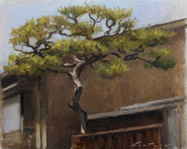 """Tree in Kamishichiken"" original fine art by Phil Couture"