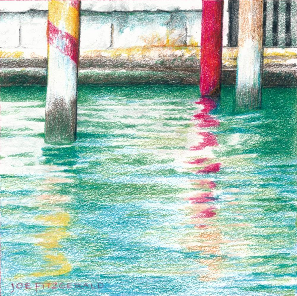 """Venetian Posts II"" original fine art by Joe Fitzgerald"