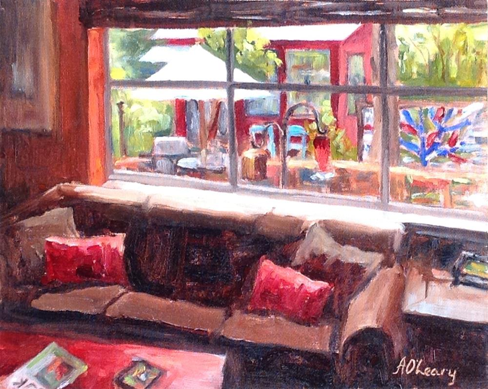 """Lucy's View"" original fine art by Alice O'Leary"