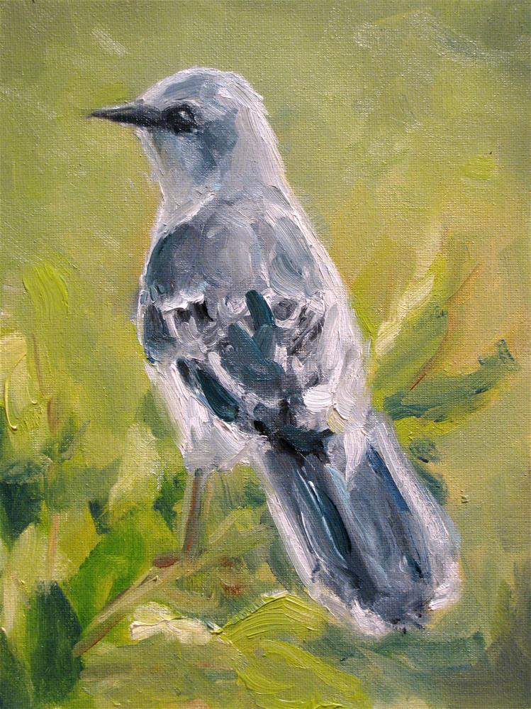 """Tennessee Mocking Bird"" original fine art by Susan Elizabeth Jones"
