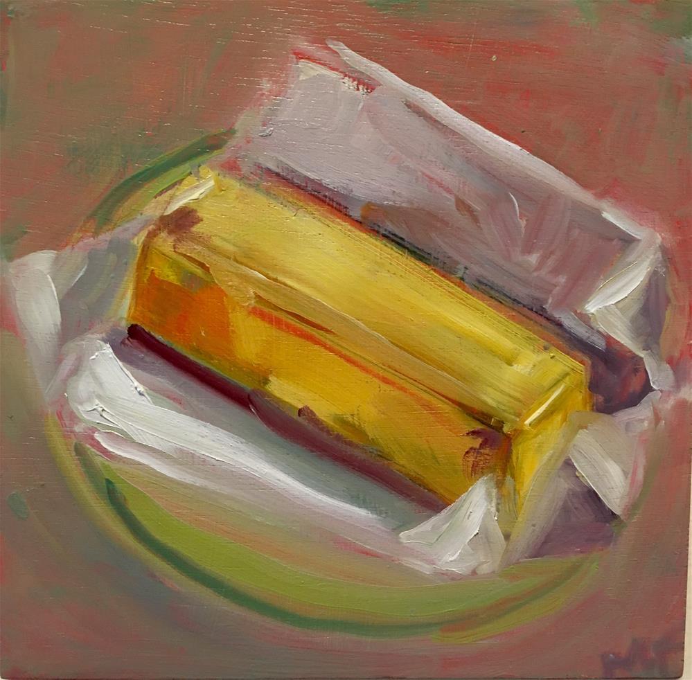 """""""Butter"""" original fine art by maura fine"""