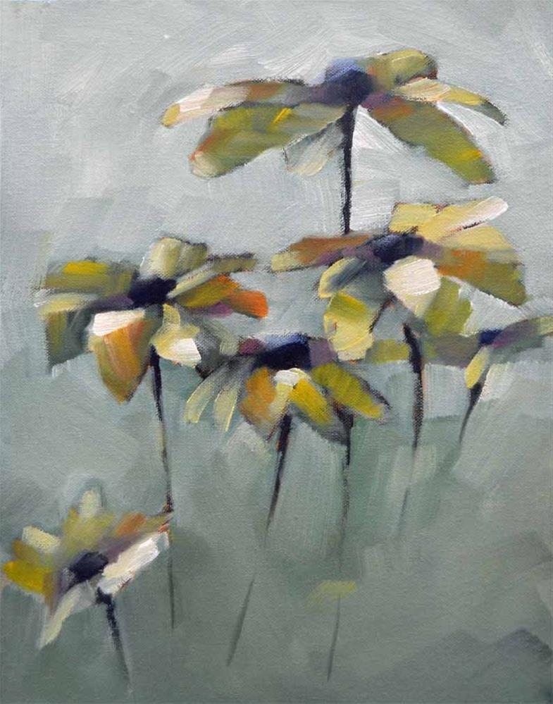 """Susans, Bunch 1"" original fine art by Cheryl Wilson"