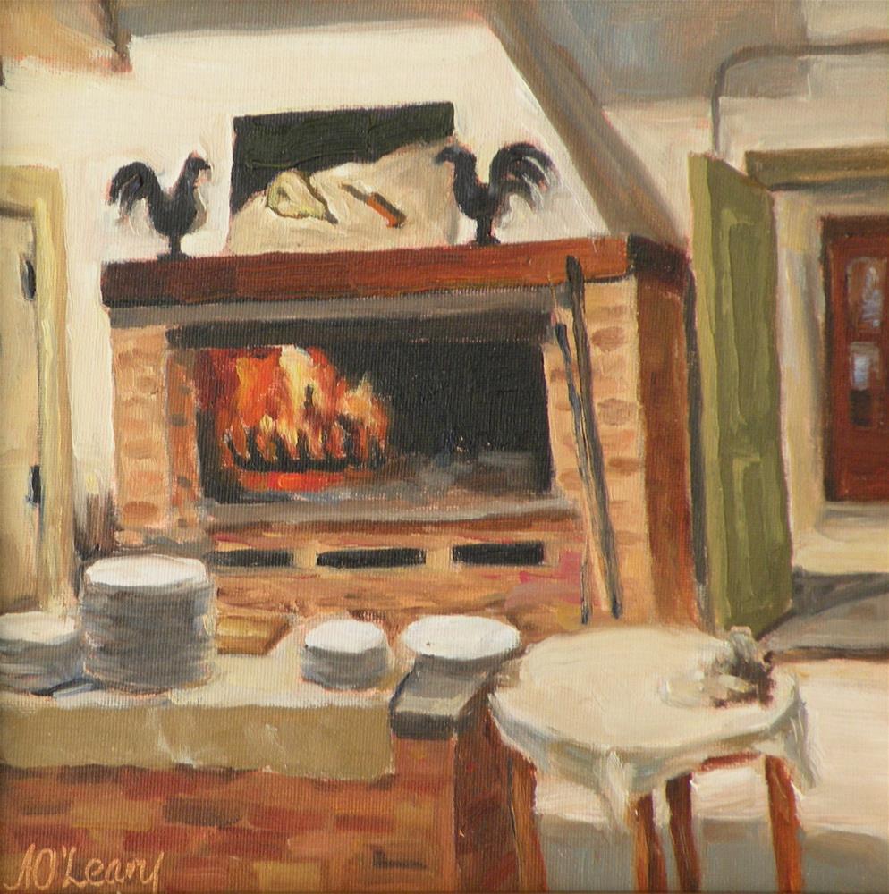 """Italian Kitchen"" original fine art by Alice O'Leary"