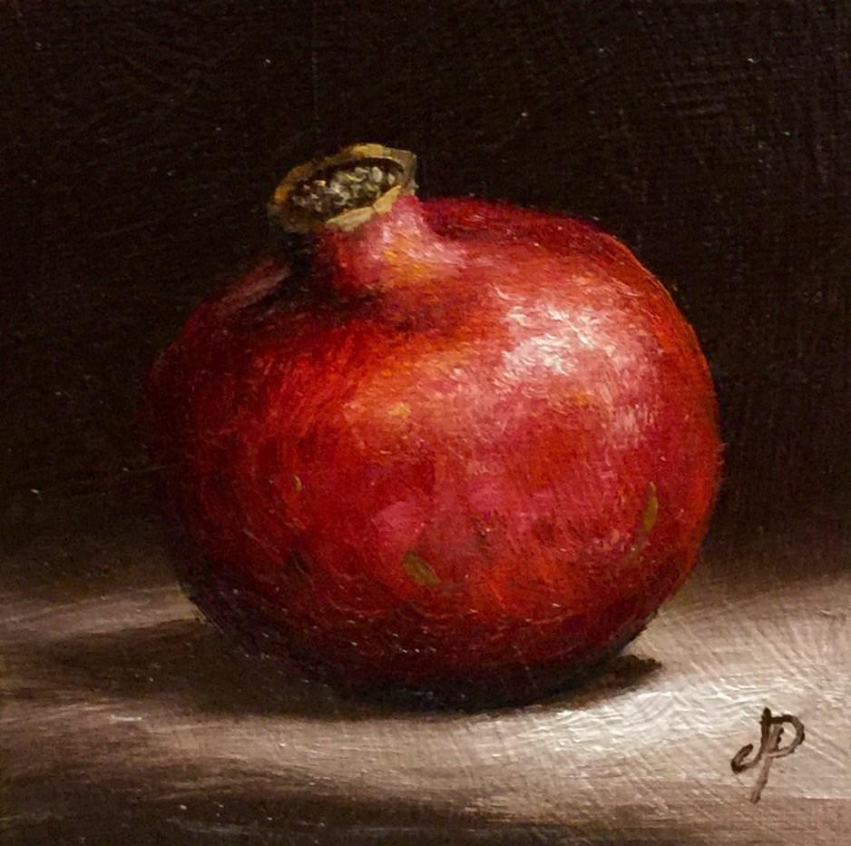 """Little Pom"" original fine art by Jane Palmer"