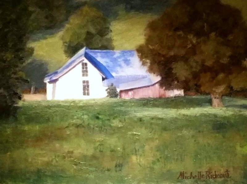 """Almost Home"" original fine art by Michelle Rideout"