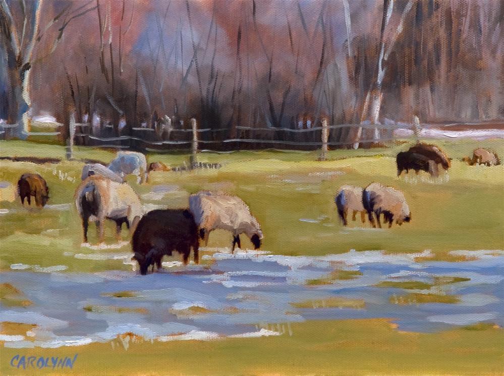 """Lucky #13"" original fine art by Carolynn Doan"