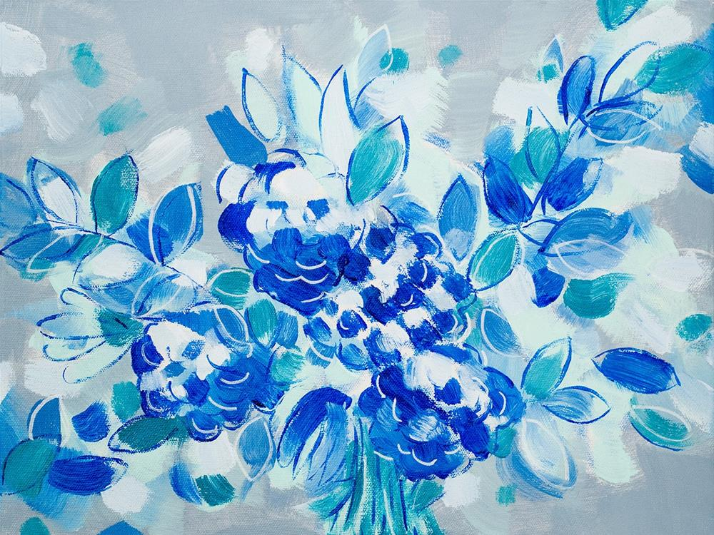 """Wedding Blues"" original fine art by Franziska Schwade"