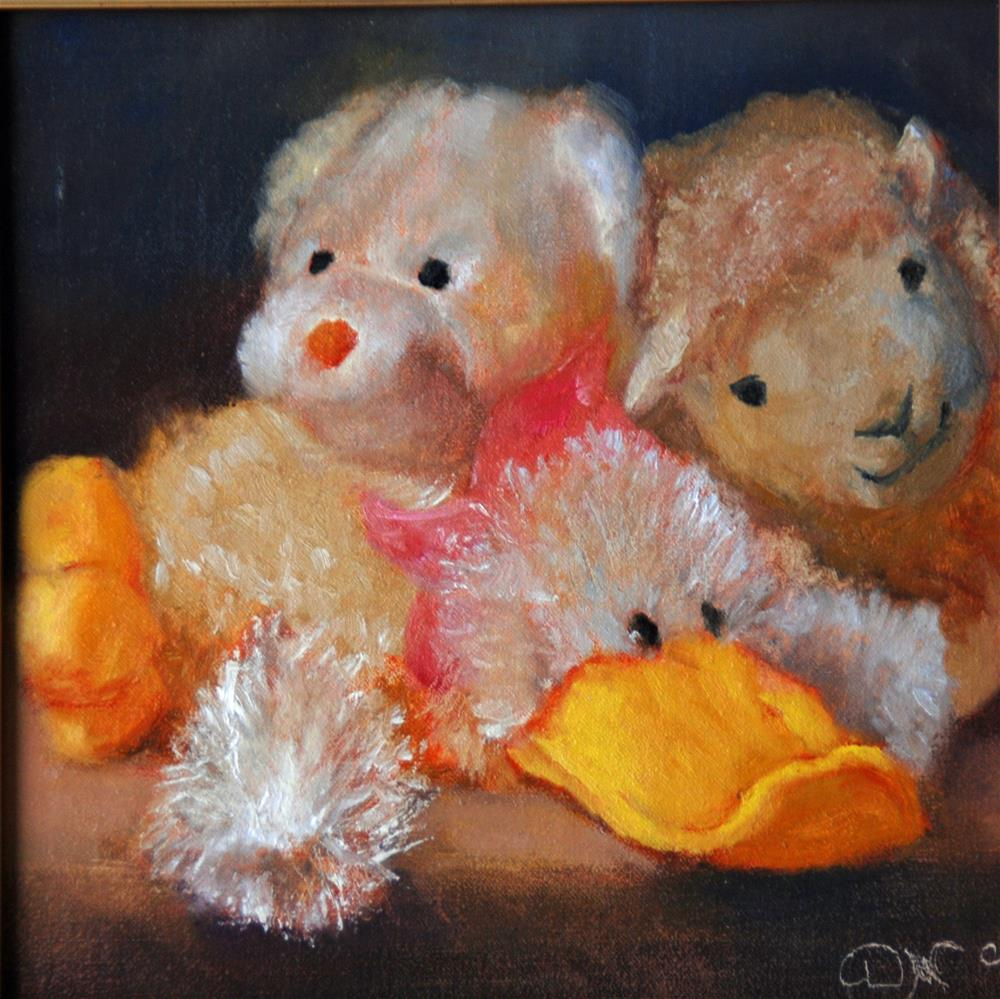 """Nursery Time"" original fine art by Dorothy McLennan"