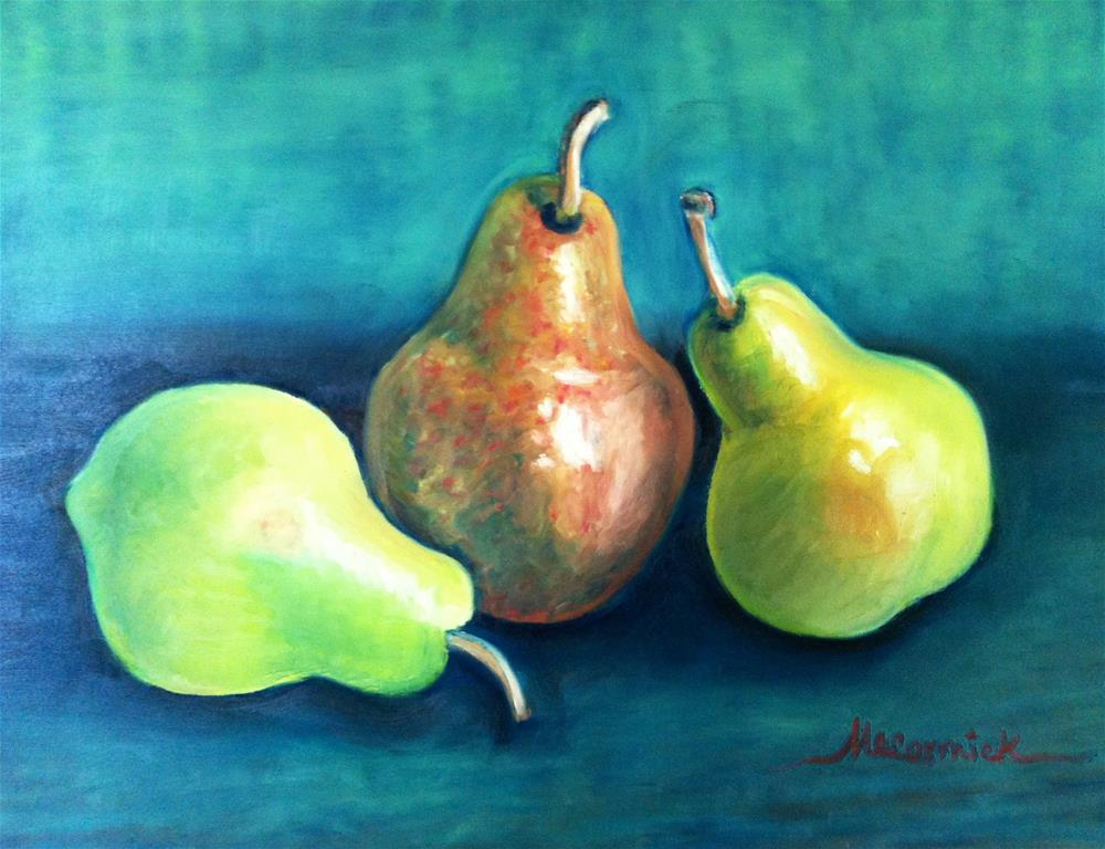 """""""Three of a Kind"""" original fine art by Mary McCormick-Wixson"""