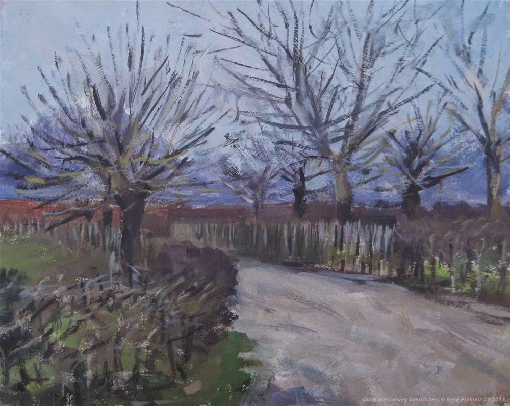 """Aweful grey, ... Doetinchem, The Netherlands"" original fine art by René PleinAir"