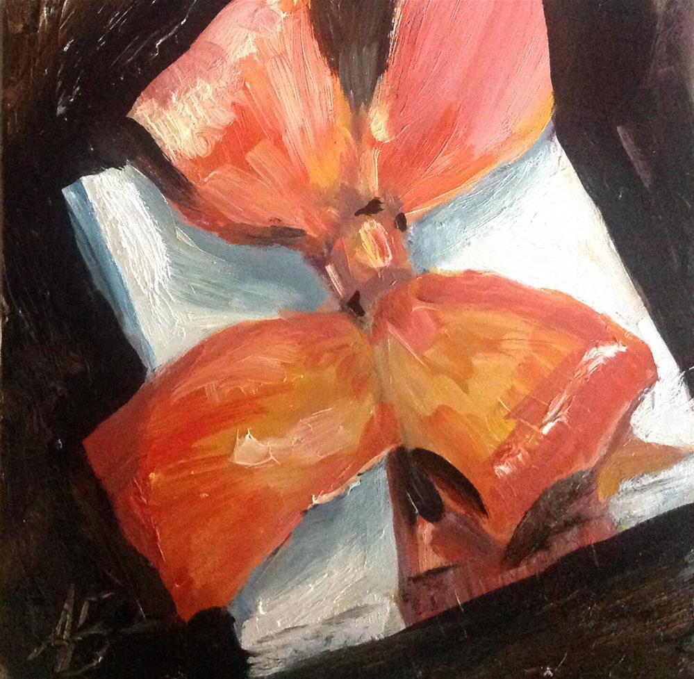 """Forgotten Gift"" original fine art by Annette Balesteri"
