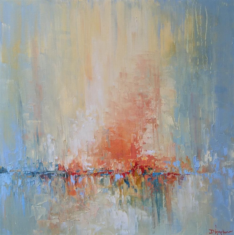"""Exhilaration is the Breeze"" original fine art by Denise Hopkins"