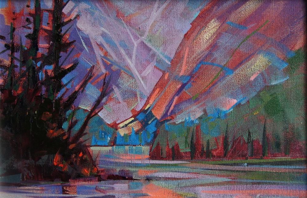 Mountain Light original fine art by Brian Buckrell