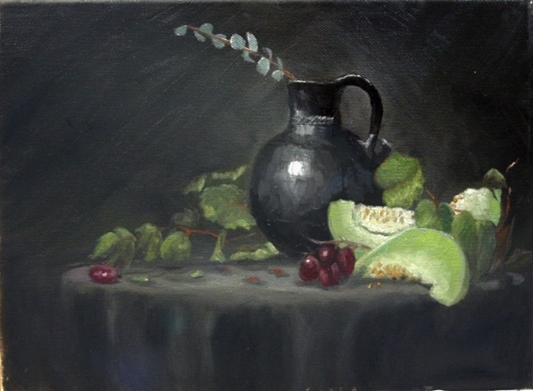 """Honeydews"" original fine art by Mary Datum"