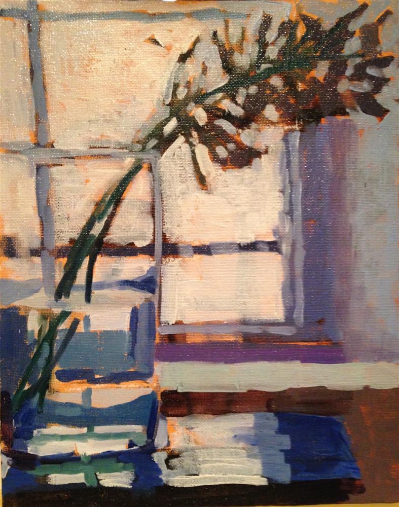 """""""Agapanthus Blooms"""" original fine art by Pamela Hoffmeister"""