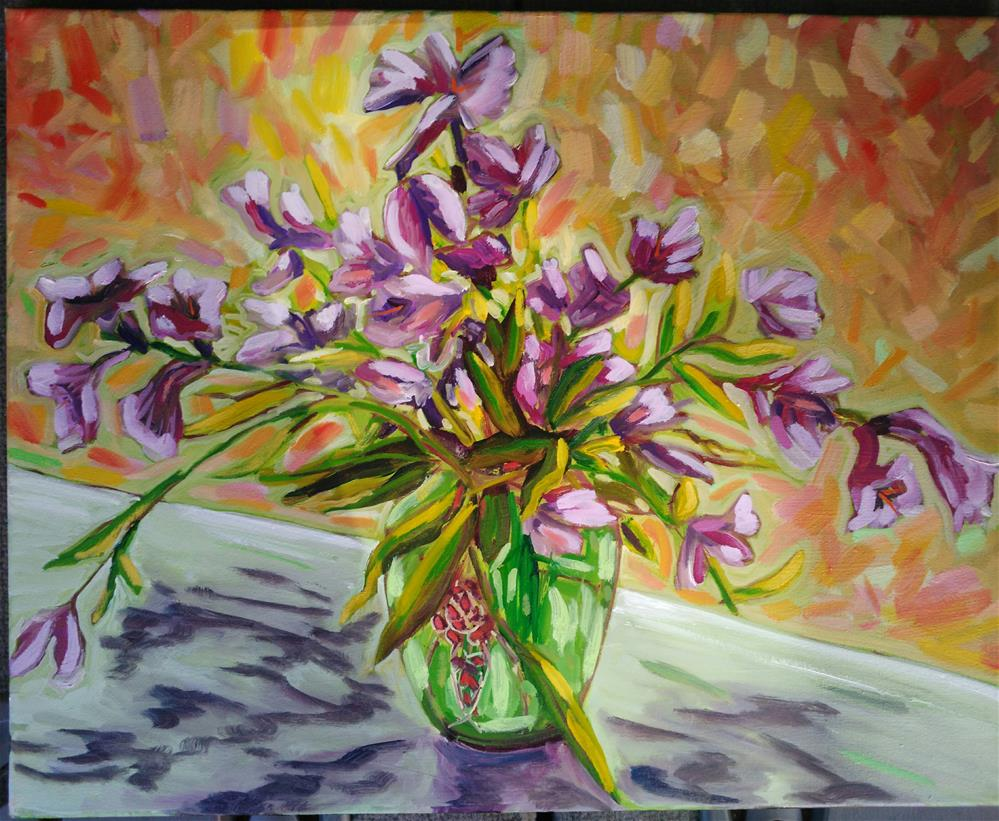 """Mother's Day Bouquet"" original fine art by Robyn Wellman"