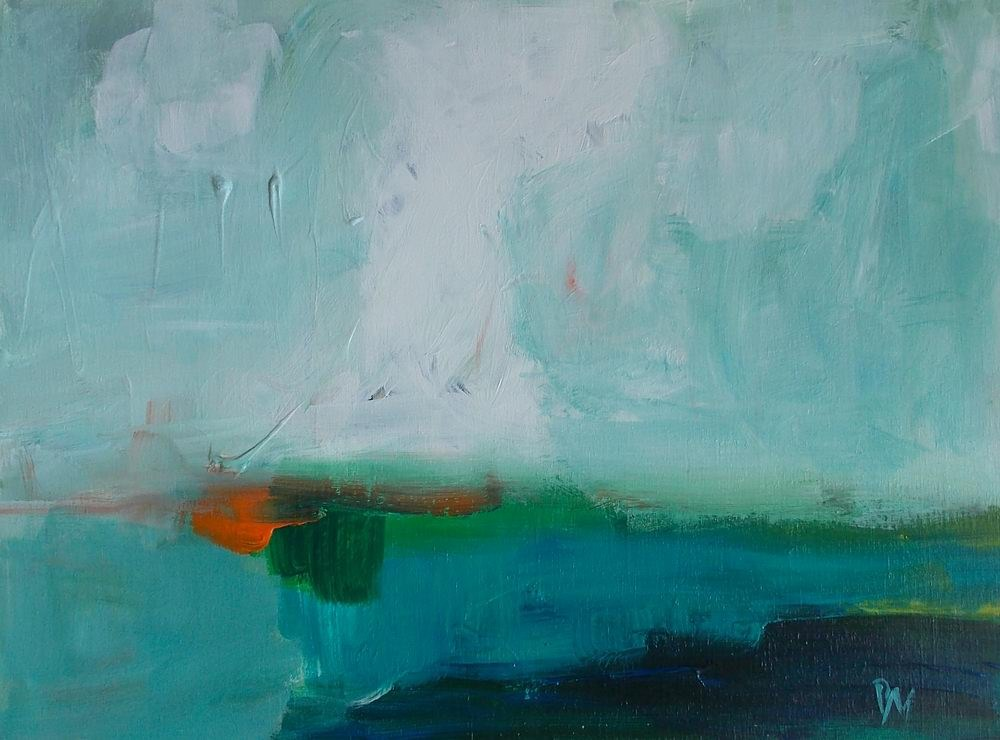 """Water Theory"" original fine art by Pamela Munger"