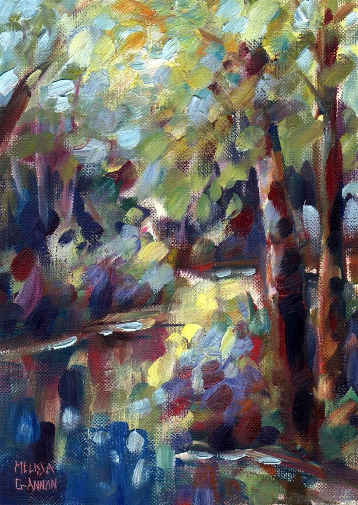 """Landscape II"" original fine art by Melissa Gannon"