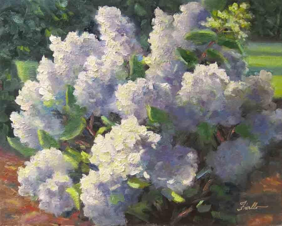 """Highlands Heaven"" original fine art by Pat Fiorello"