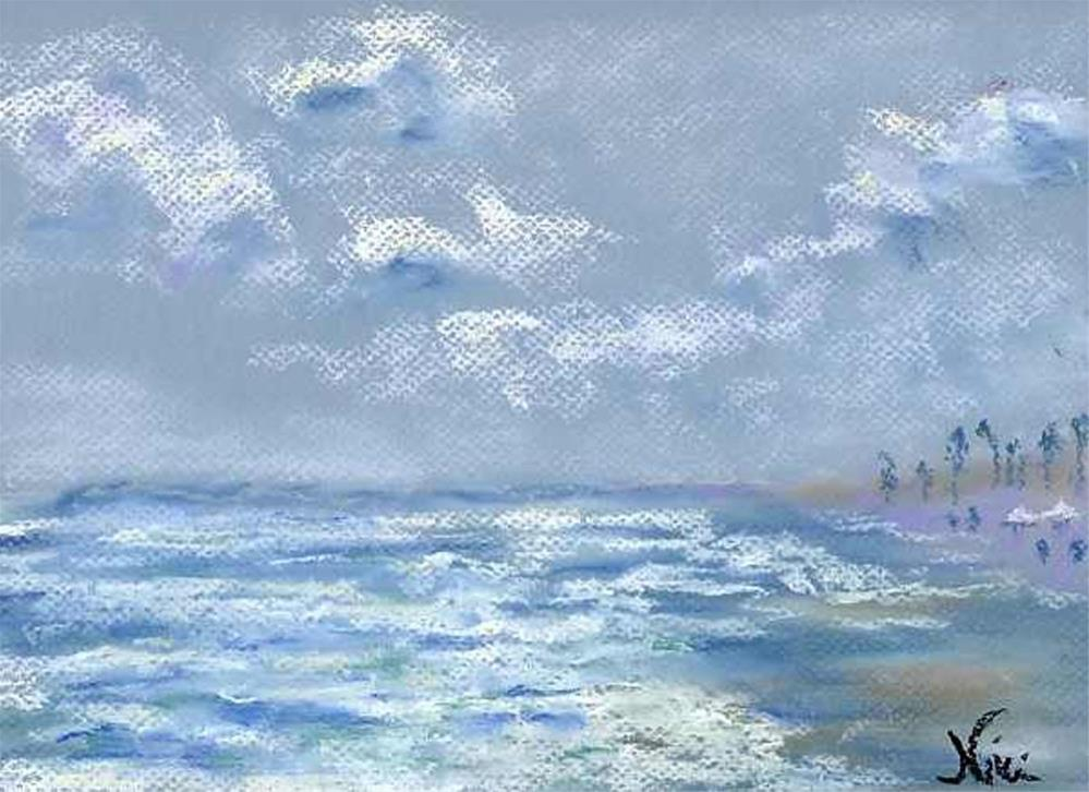 """View from the Jetty"" original fine art by Niki Hilsabeck"
