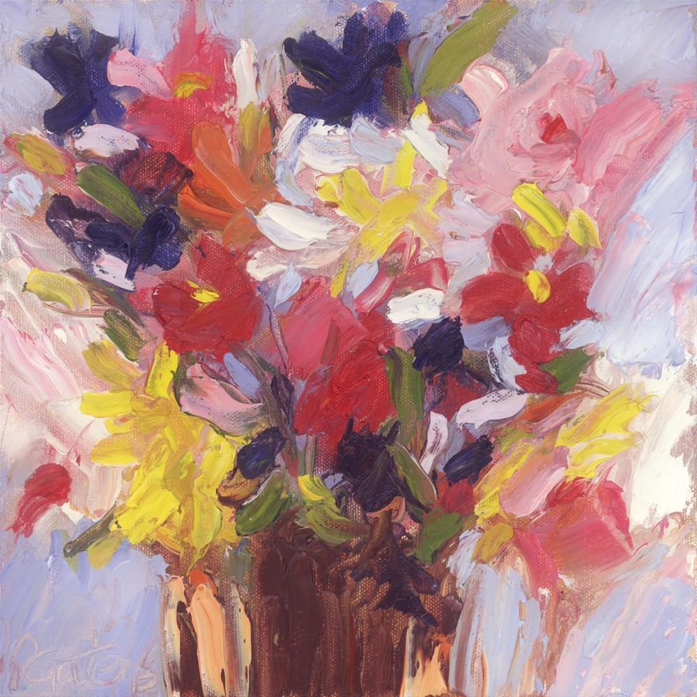 """Pocket Posies"" original fine art by Pamela Gatens"