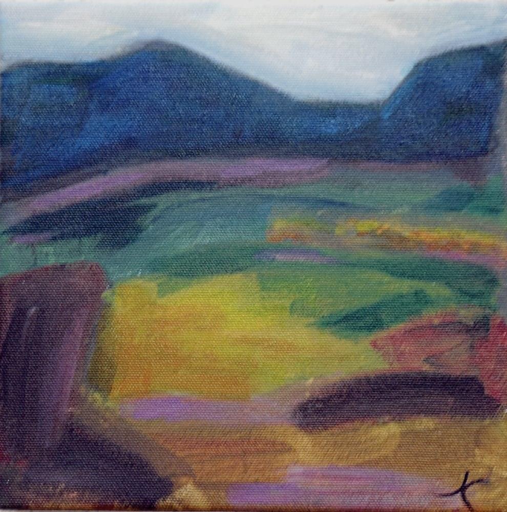 """""""Arizpe"""" original fine art by Jeanne Campos"""