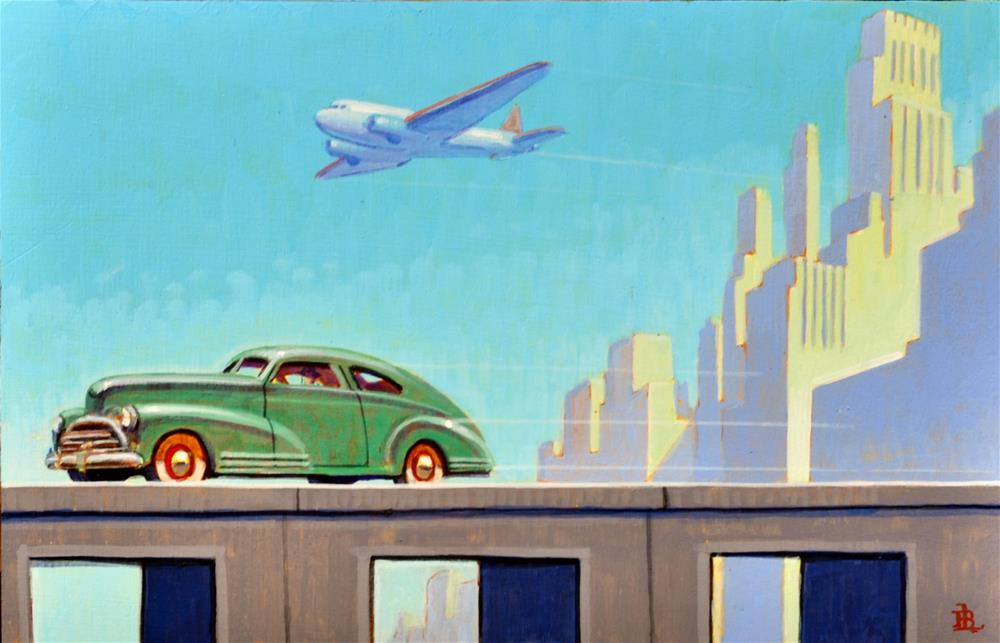 """Westward"" original fine art by Robert LaDuke"