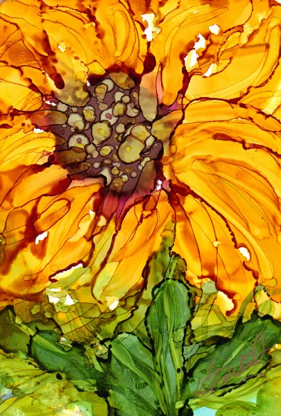 """Last of Summer"" original fine art by Kristen Dukat"