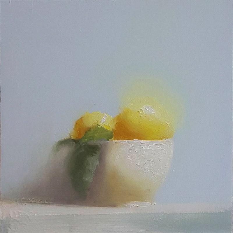 """Lemon Bowl"" original fine art by Neil Carroll"