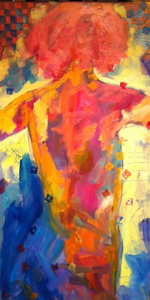 """Turning"" original fine art by Ceci Lam"