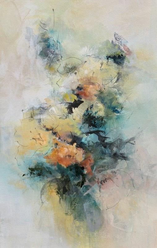 """""""Center Stage"""" original fine art by Karen Hale"""