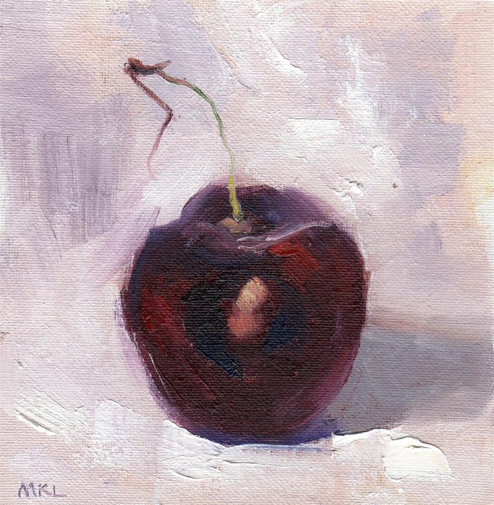 """Cherry"" original fine art by Marlene Lee"