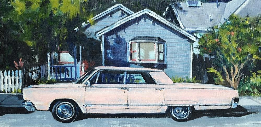 """Land Yacht"" original fine art by John Tullis"